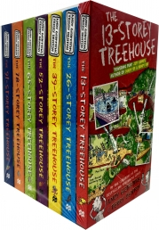 The 13-Storey Treehouse Collection Andy Griffiths and Terry Denton 7 Books Set Photo