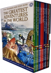 The Greatest Adventures in the World Collection 10 Books Box Set Photo