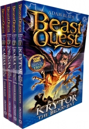 Beast Quest Series 18 Collection 4 Books Set Pack By Adam Blade Photo