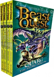Beast Quest Series 19 Collection 4 Books Set Pack By Adam Blade Photo