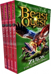 Beast Quest Series 20 Collection 4 Books Set Pack By Adam Blade Photo