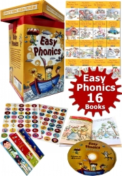 Easy Phonics Early Readers, 16 Books Box Set Collection Pack Photo