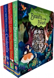 Usborne Peep Inside a Fairy Tale Collection 4 Books Set Photo