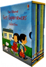 Usborne First Experiences Collection 8 Books Box Set by Anne Civardi