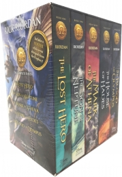 The Heroes of Olympus Collection 5 Books Box Set by Rick Riordan (Classic Cover) Photo