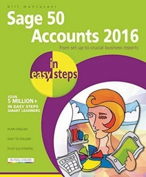 Sage 50 Accounts 2016 in easy steps Photo