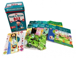 Read & Shine Comprehensive Reading Program Level K 14 Books Set (Year 4-5) Photo