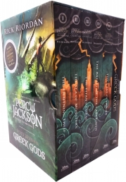 Percy Jackson & the Olympians Rick Riordan 6 Books Collection Box Set Photo
