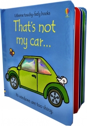 Thats Not My Car (Touchy-Feely Board Books) Photo