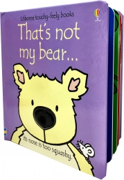 Thats Not My Bear Touchy-Feely Board Books Photo