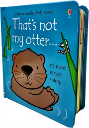 Thats Not My Otter (Touchy-Feely Board Books) Photo