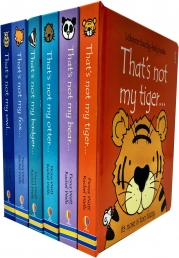 Usborne Thats Not My Wild Animals Collection Touchy-Feely 6 Books Set Photo
