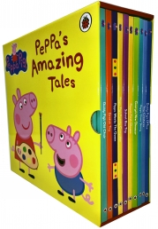 Peppa Pig Amazing Tales Collection 10 Books Box Set Photo
