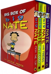 Big Box of Big Nate Collection 4 Books Box Set By Lincoln Peirce Photo