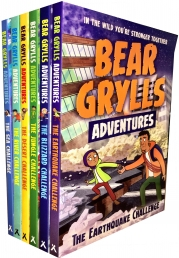 Bear Grylls Adventure Collection 6 Books Set Photo