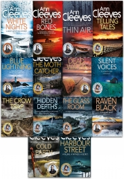 Ann Cleeves TV Vera Stanhope and Shetland Series Collection 14 Books Set by Ann Cleeves