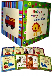 Usborne Babys Very First Collection 8 Books Set Children Gift Pack Photo