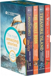 Oxford Childrens Classics World of Adventure Collection 4 Books Box Set Photo