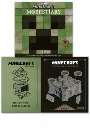 Minecraft Collection 3 Books Set Pack Photo