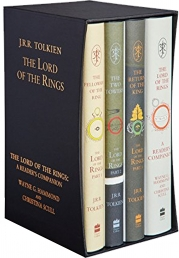 J. R. R. Tolkien The Lord of the Rings Collection 4 Books Boxed Set Special Edition Photo