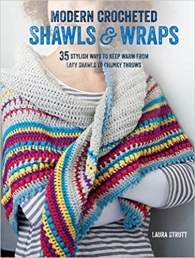 Modern Crocheted Shawls and Wraps - 35 stylish ways to keep warm from lacy shawls to chunky throws Photo
