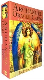 Archangel Oracle Tarot Cards Deck Doreen Virtue Powerful, Wise Photo