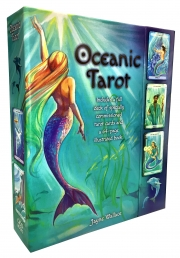 Oceanic Tarot Deck Cards Collection Box Gift Set Mind Body Spirit Mermen Mermaid Photo