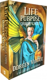 Life Purpose Oracle Tarot Cards Deck Doreen Virtue Psychic Reading Photo