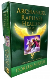 Archangel Raphael Healing Oracle Tarot Cards Deck Doreen Virtue Psychic Reading Photo