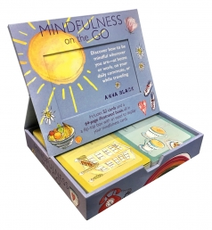 Mindfulness on the Go: Includes 52 Cards and a 64-Page Illustrated Book Box Gift Photo