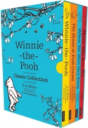 Winnie the Pooh Classic Collection 4 Books Box Set Character Classics Photo