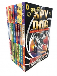 Spy Dog Andrew Cope Collection 9 Books Set Photo