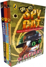 Spy Cat Collection 3 Books Set By Andrew Cope (Blackout, Safari, Summer Shocker) Photo
