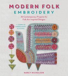 Modern Folk Embroidery: 30 Contemporary Projects for Folk Art Inspired Designs Photo