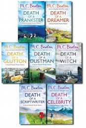 Hamish Macbeth Murder Mystery Series Two M.C. Beaton 7 Books Collection Set by M.C. Beaton