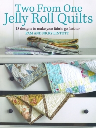 Two from One Jelly Roll Quilts Photo