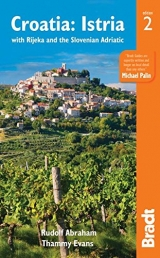 Croatia and the Slovenian Adriatic Travel Guide by Thammy Evans, Rudolf Abraham