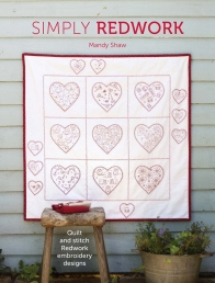 Simply Redwork: Quilt and stitch redwork embroidery designs Photo