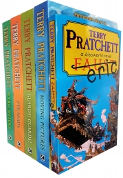 Discworld Novel Series 2 Terry Pratchett Collection 5 Books Set (Book 6-10) Photo