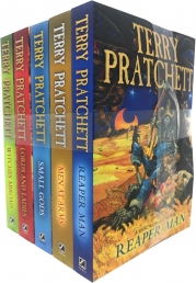 Discworld Novel Series 3 Terry Pratchett Collection 5 Books Set (Book 11-15) Photo