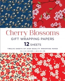 Cherry Blossoms Gift Wrapping Papers Photo