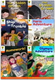 Oxford Reading Tree Read With Biff Chip Kipper Stories Collection 6 Books Set Level 6 Photo