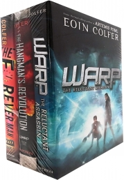 Eoin Colfer Collection 3 Books Set The Reluctant Assassin - Hangmans Revolution - The Forever Man Photo