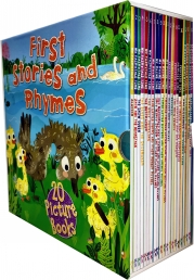 Miles Kelly First Stories and Rhymes 20 Books Collection Box Set Photo