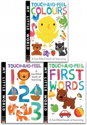 My Little World Touch and Feel Collection 3 Books Set Photo
