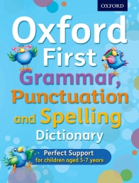 Oxford First Grammar, Punctuation and Spelling Dictionary Photo