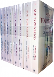 Sue Townsend Adrian Mole 8 Books Collection Set Photo