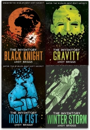 The Inventory Series Collection 4 Books Set By Andy Briggs (The Iron Fist, Gravity, Black Knight, Winter Storm) Photo