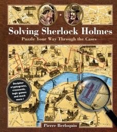 Solving Sherlock Holmes: Puzzle Your Way Through the Cases (Puzzle Books) Photo