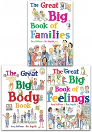 Mary Hoffman Great Big Book Series Collection 3 Books Set (The Great Big Body Book, The Great Big Book of Feelings, The Great Big Book of Families) by Mary Hoffman